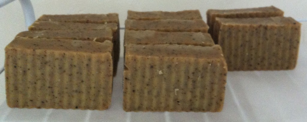 Chai Tea Soap Curing