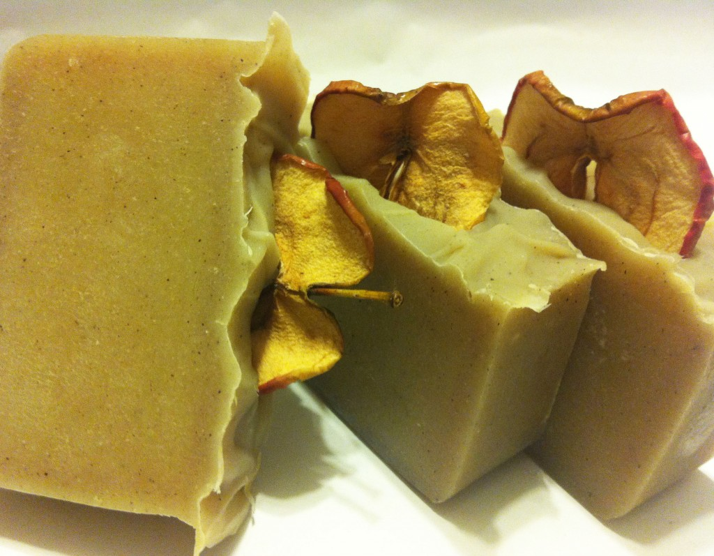 Cinnamon Apple Cider Soap