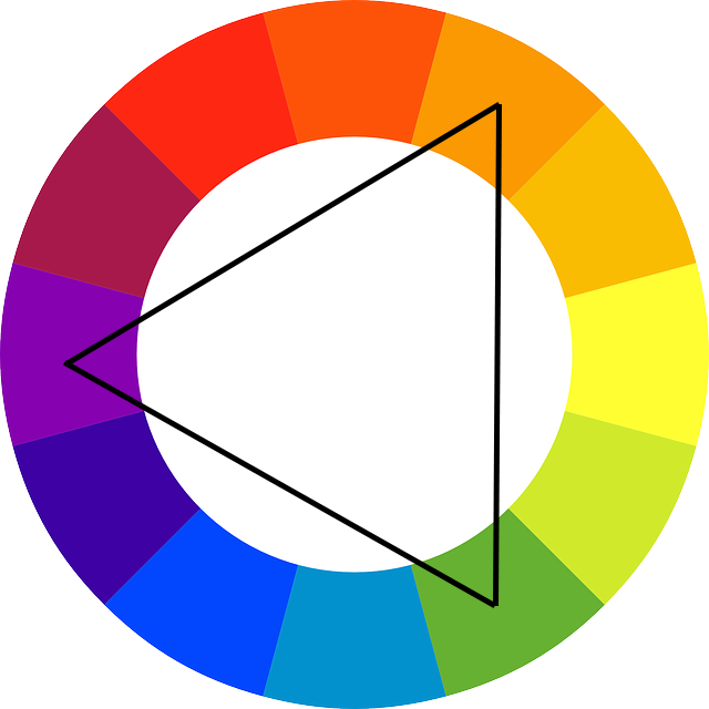 Color Wheel Triangulation